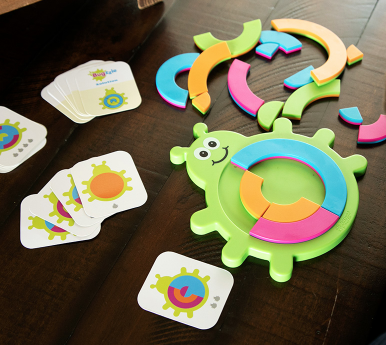 playtime fat brain toys bugzzle, 3+