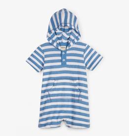 little boy hatley woven romper