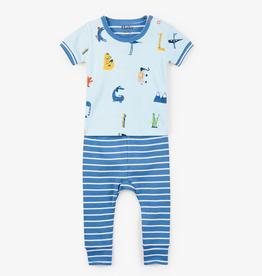 little one hatley organic pajama set