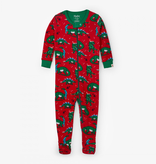 kid hatley organic footed pajamas