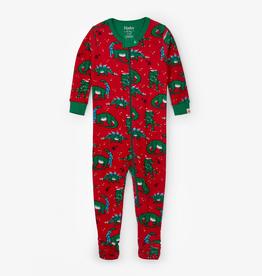 kid hatley organic footed pajamas