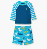 little boy hatley rashguard set