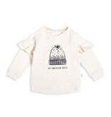 little girl miles baby ruffle sweatshirt