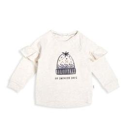 little girl miles baby ruffle sweatshirt