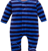 baby magnetic me velour footie