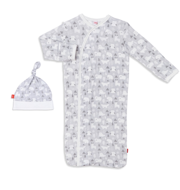 baby magnetic me modal gown set