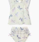 little girl hatley baby bloomer set