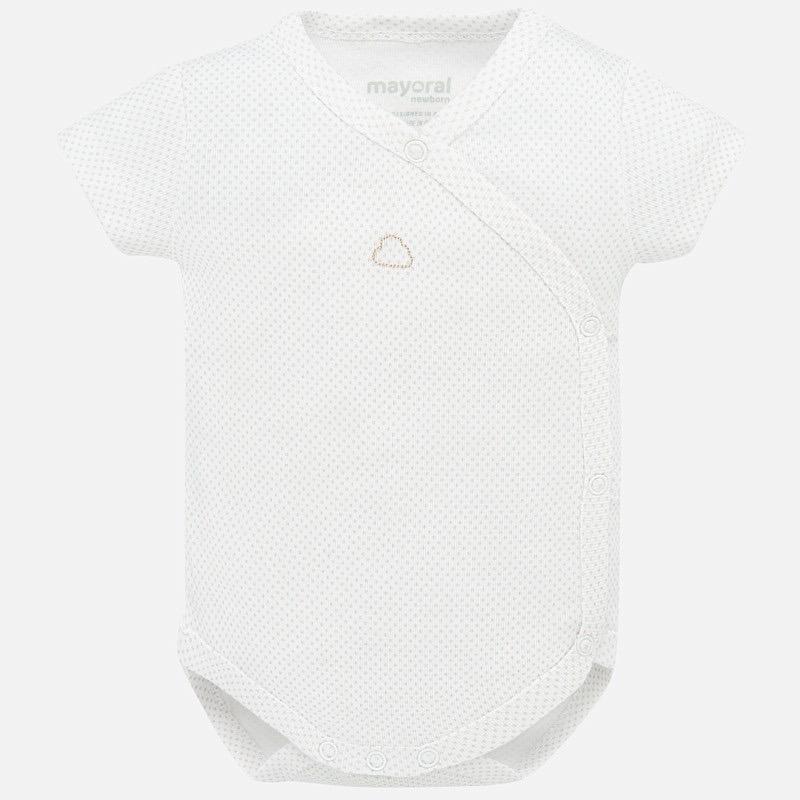 baby mayoral onesie