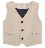 little boy mayoral linen vest
