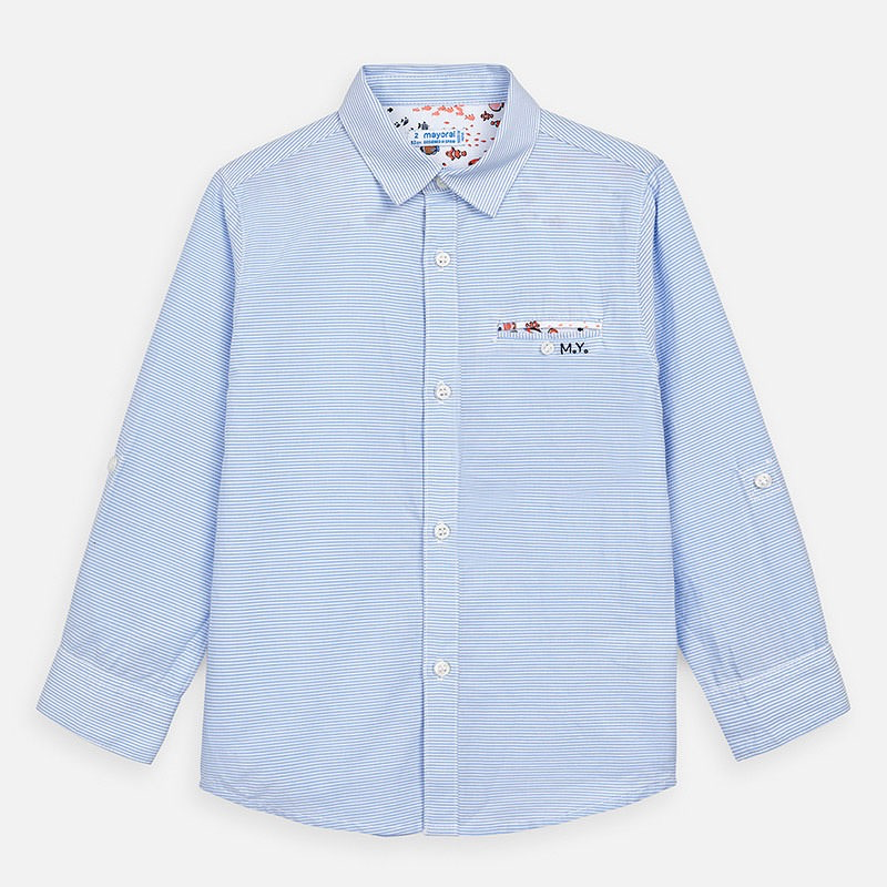 boy mayoral buttondown