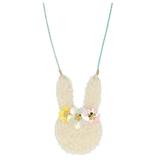 fashion accessory meri meri floral bunny necklace