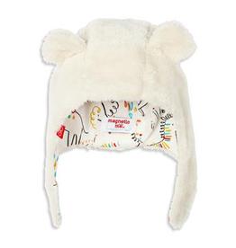 baby magnetic baby bear fleece hat