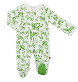 baby magnetic me organic footie