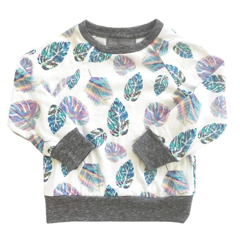 little girl miki miette graphic pullover