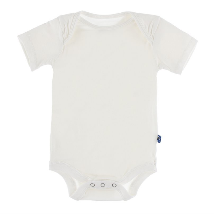 little one kickee pants short sleeved onesie