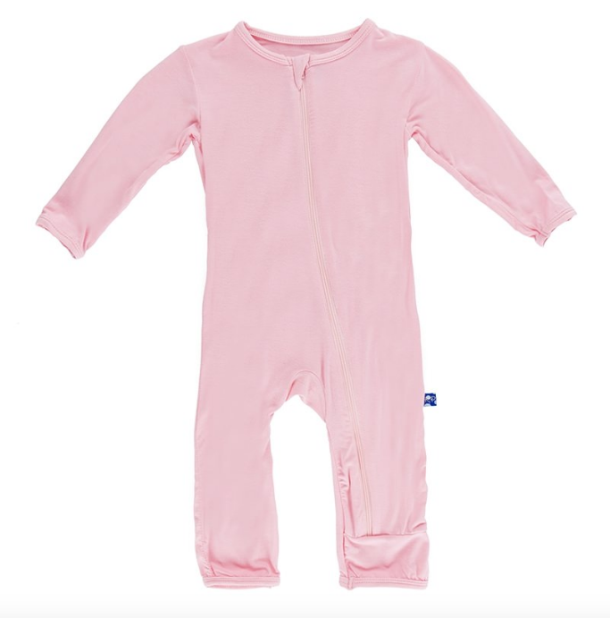 little one kickee pants zip coverall
