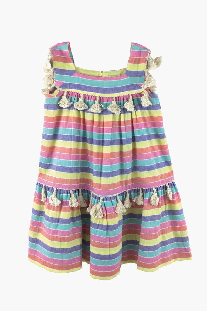 girl peas & queues fiesta dress