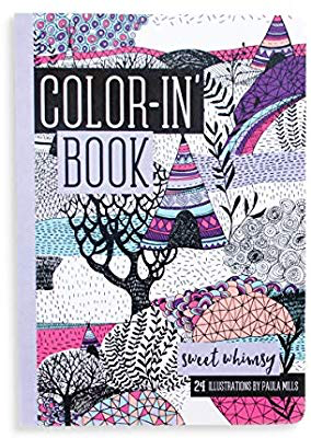 playtime travel size color-in book: whimsy