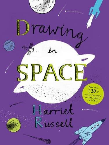book drawing in space
