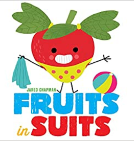 book fruits in suits