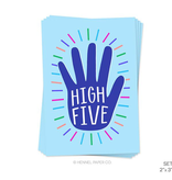 functional accessory high five note card - single