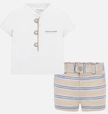 little boy mayoral dress shorts set