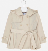 girl mayoral trench coat