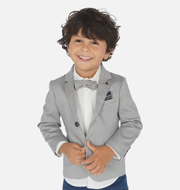 boy mayoral printed blazer