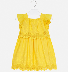 girl mayoral embroidered dress