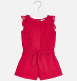 girl mayoral short romper