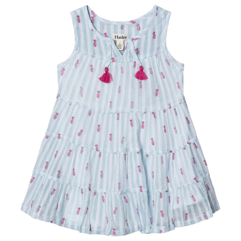 girl hatley tiered dress