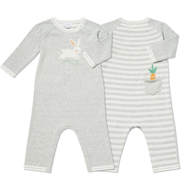 little one angel dear knit coverall