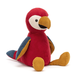 playtime jellycat belby parrot
