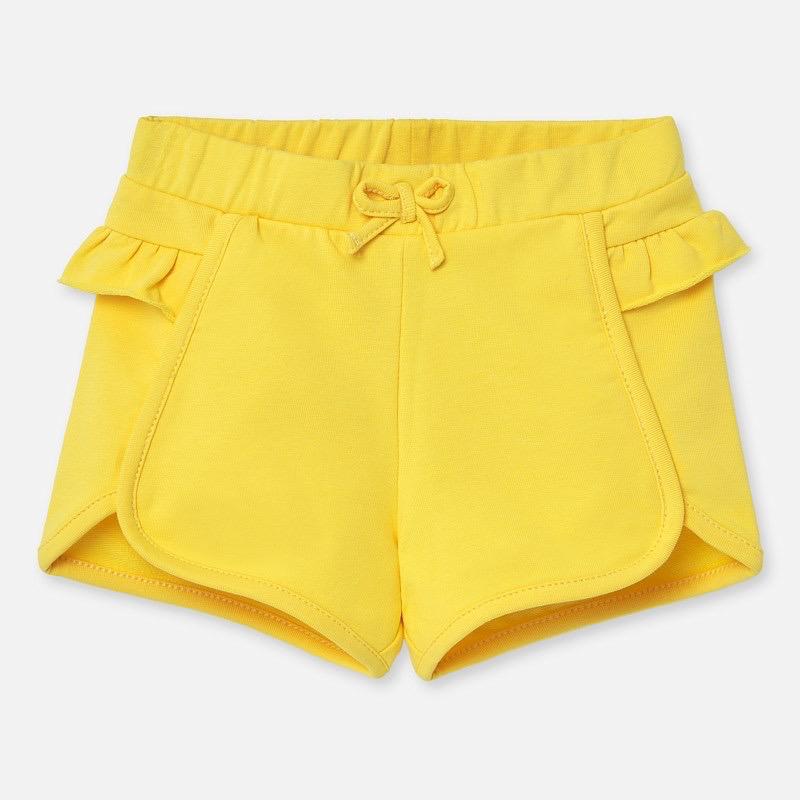 little girl mayoral ruffled shorts