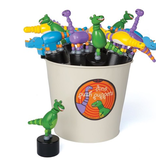 playtime wobbly press-up toy, dinosaurs