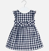 girl mayoral ruffle gingham dress