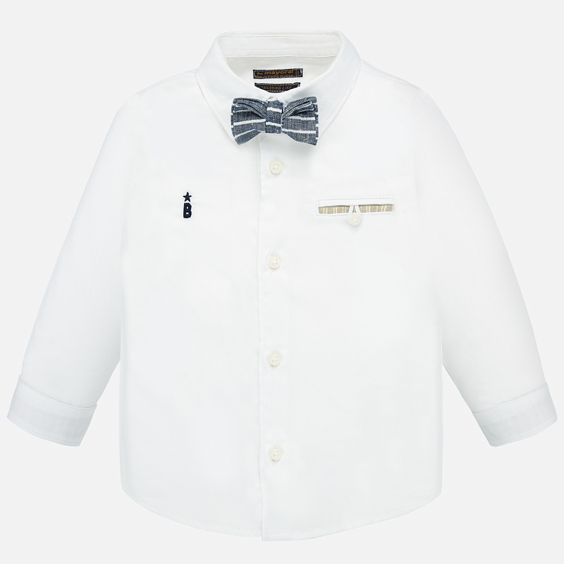 little boy mayoral buttondown & bowtie