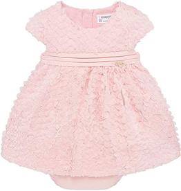little girl mayoral floral tulle dress