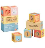 playtime wooden baby milestone blocks
