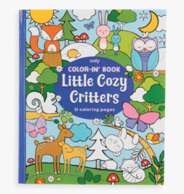 playtime color-in book: little cozy critters
