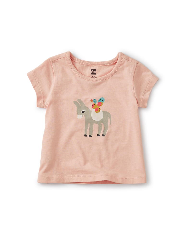 little girl tea collection graphic tee