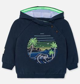 little boy mayoral beach hoodie
