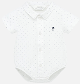 little boy mayoral polo onesie