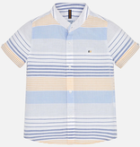 boy mayoral ss striped buttondown