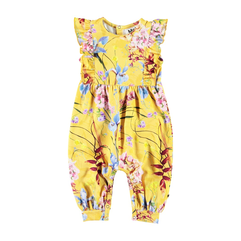little girl molo fallon romper