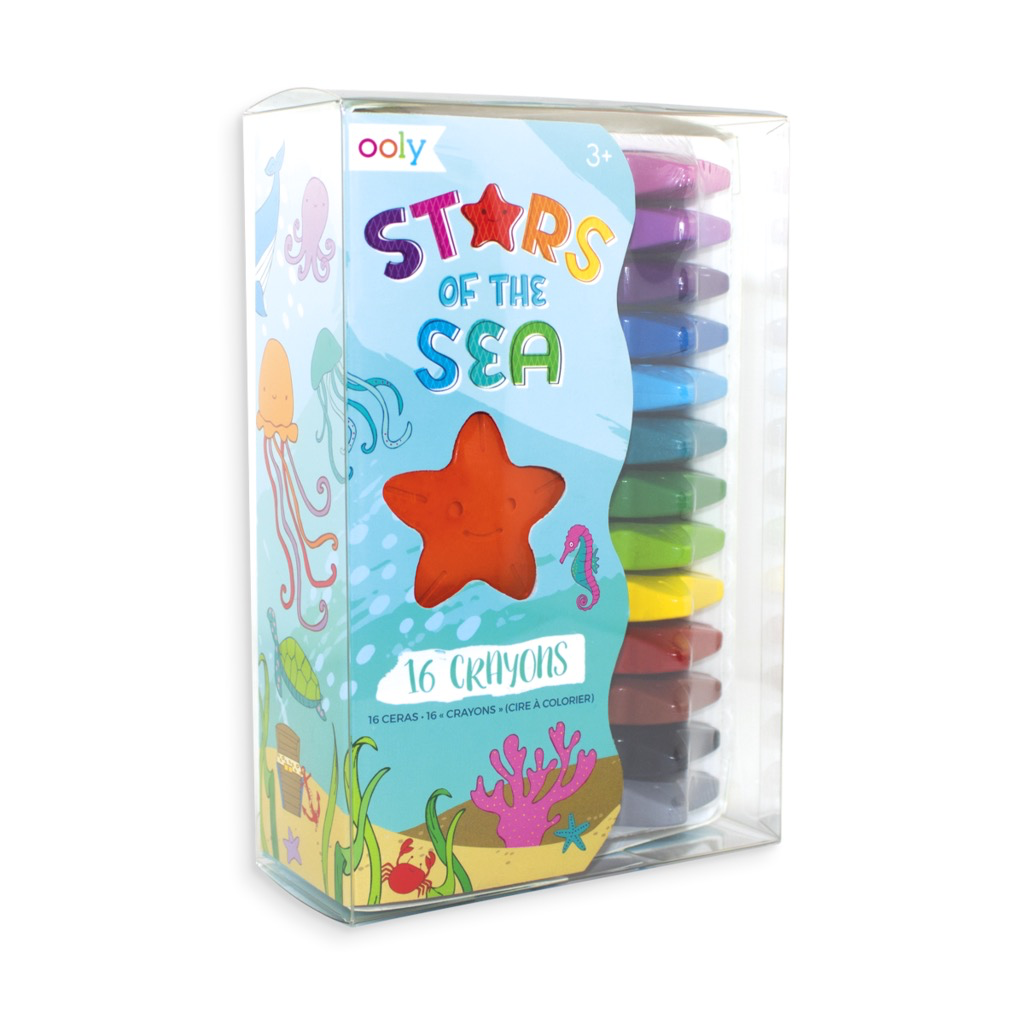 playtime stars of the sea crayons