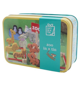 playtime zoo in a tin