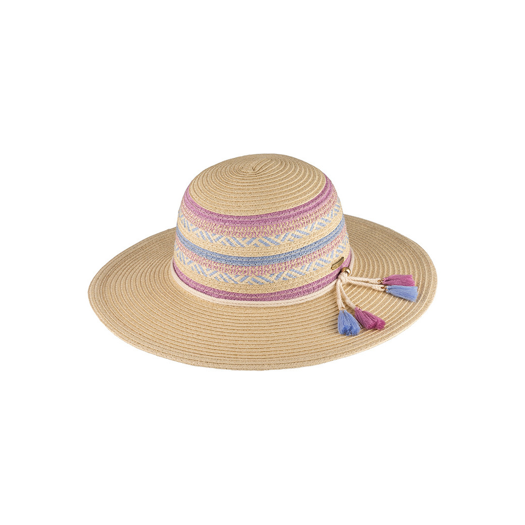 fashion accessory millymook girls wide brim hat, simone, one size