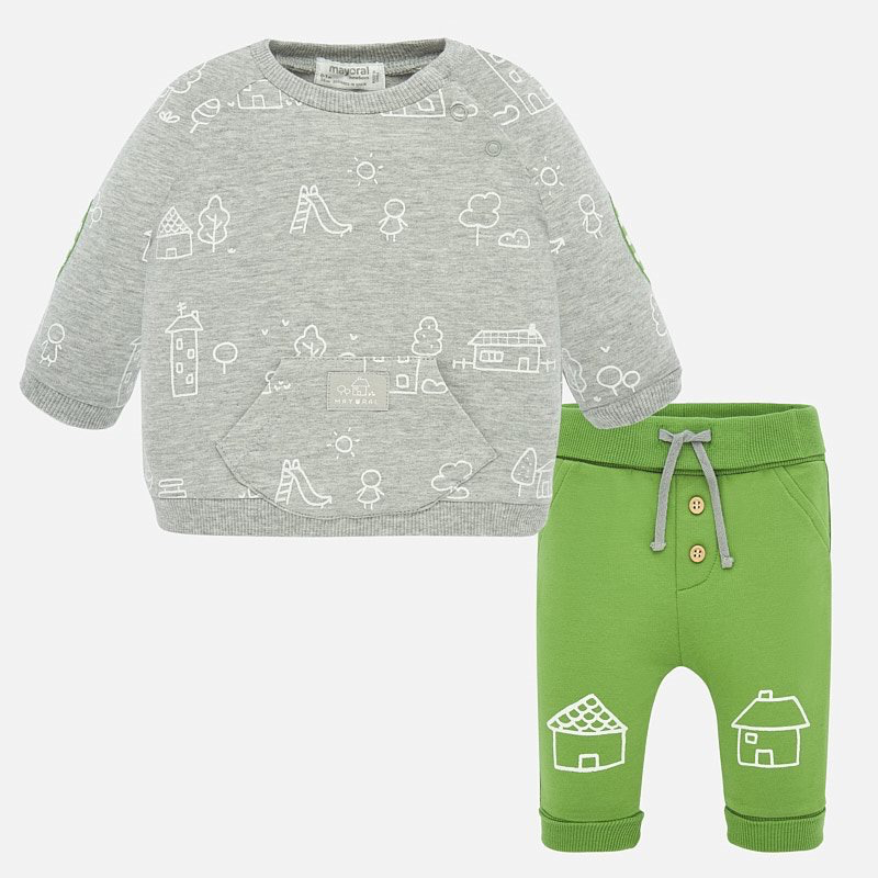 little boy mayoral sweatshirt + joggers