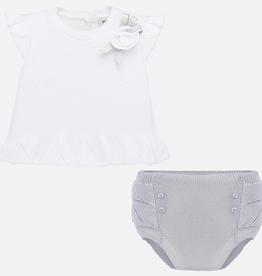 little girl mayoral summer sweater set